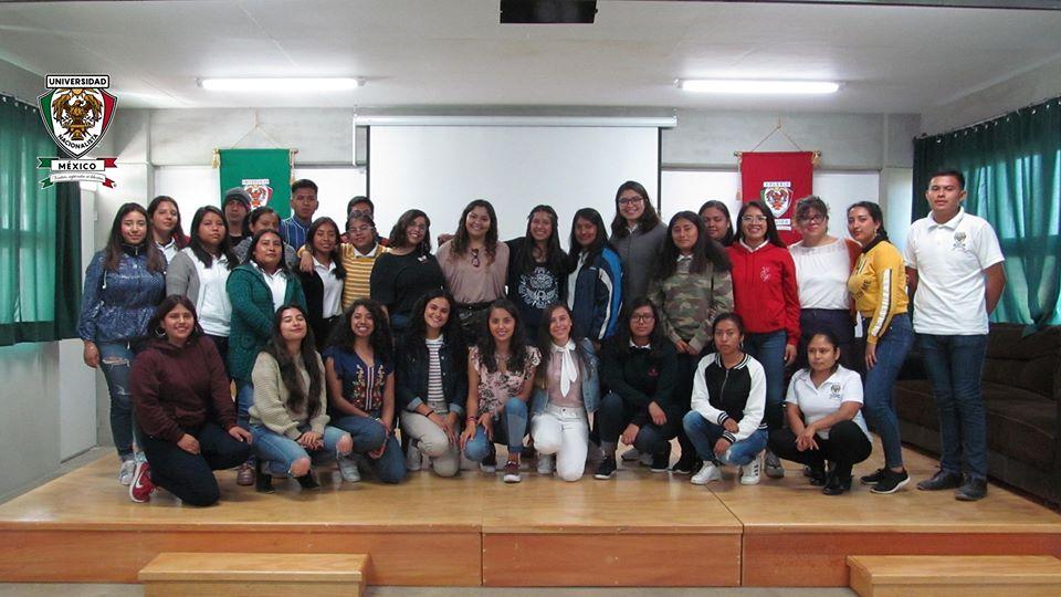 Primer encuentro académico Universidad Marista de Guadalajara, junto a nuestros estudiantes de las Licenciaturas en Pedagogía y Psicología Social.