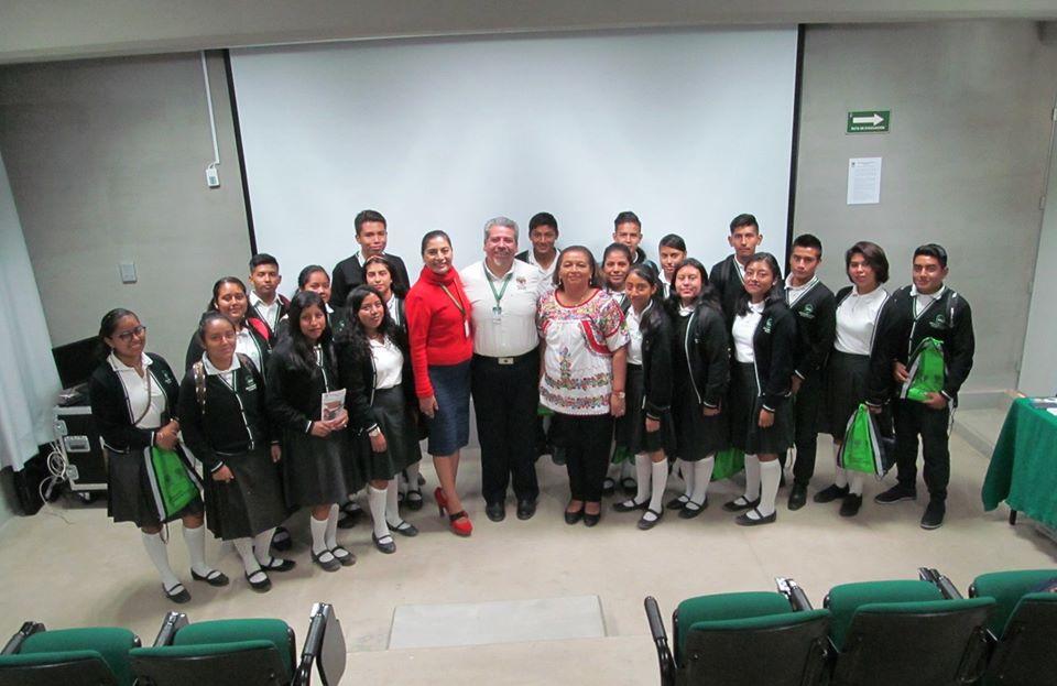 Grata visita de los estudiantes de último semestre del IEBO Plantel 119, correspondiente a la comunidad de San Juan Teitipac, para conocer nuestras instalaciones e información de nuestra oferta educativa.