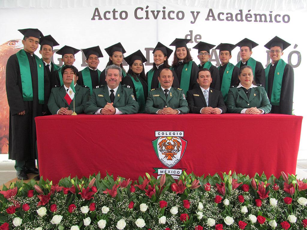 Acto Académico de Graduación del Colegio Nacionalista México. ¡Felicidades a nuestra primera generación! ¡Mucho éxito!