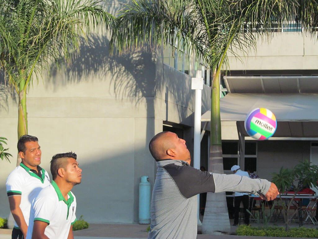 Torneo de Voleibol UNM, realizado el día 2 de Junio del 2018 en las instalaciones deportivas del Campus Central, ubicado en Tlalixtac de Cabrera.