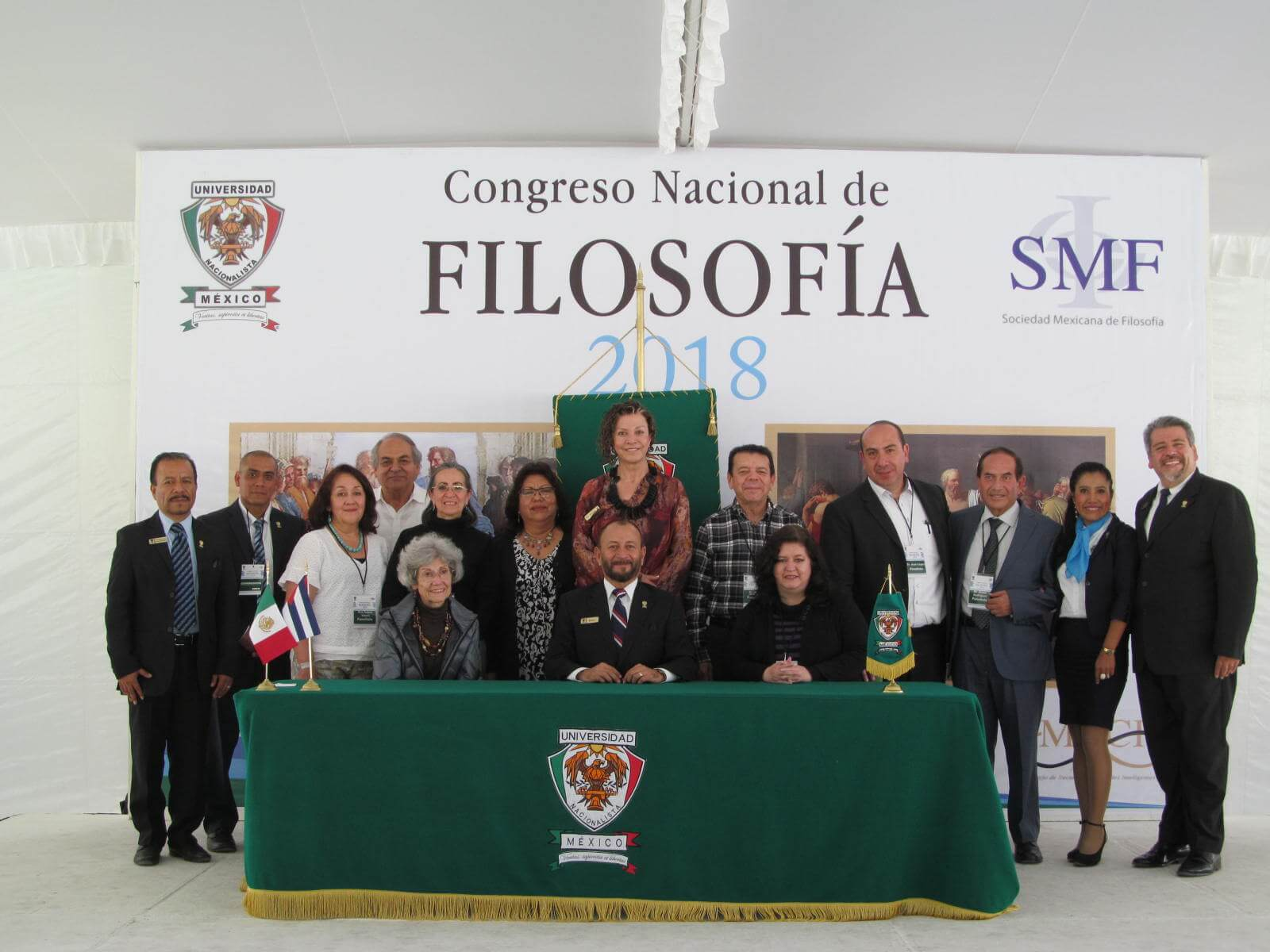 Los días 16 Y 17 de noviembre la Universidad Nacionalista México fue sede del Congreso Nacional de Filosofía 2018 en el que se desarrolló el tema