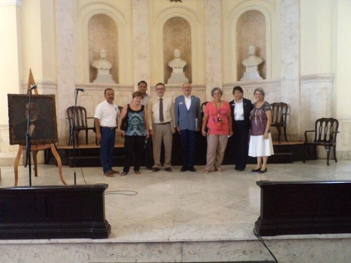 Convenio internacional de la Universidad Nacionalista México con La Academia de Ciencias de Cuba, una institución oficial del estado cubano, independiente y consultiva en materia de ciencias que fortalece los vínculos inter-académicos con organizaciones internacionales y organizaciones homólogas de otros países.