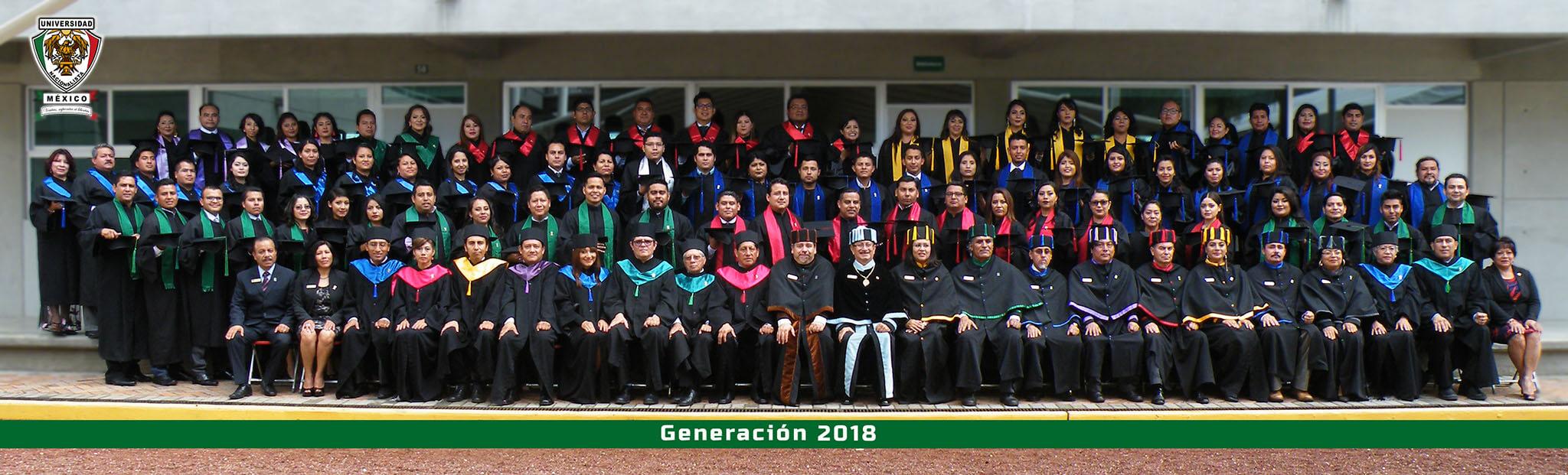 El día 19 de agosto del año 2018, en las Instalaciones de nuestra Universidad Nacionalista México se llevó a cabo el acto de Ceremonia de Graduación