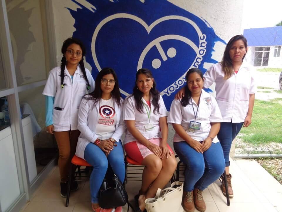 Visita de nuestros estudiantes de Licenciatura en Psicología Social a la Asociación Mexicana de Niños con Cáncer (AMANC A.C. Oaxaca).