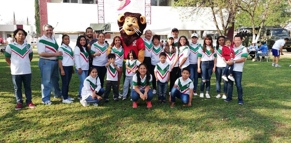 La #FamiliaEducativaMéxico presente en la carrera IPN K 2019, apoyando a nuestro amigo Leo.