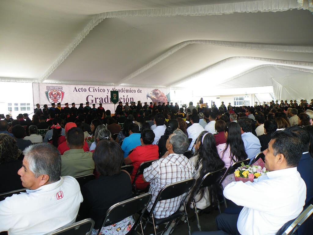 Acto cívico y administrativo de graduación, generación 2018.